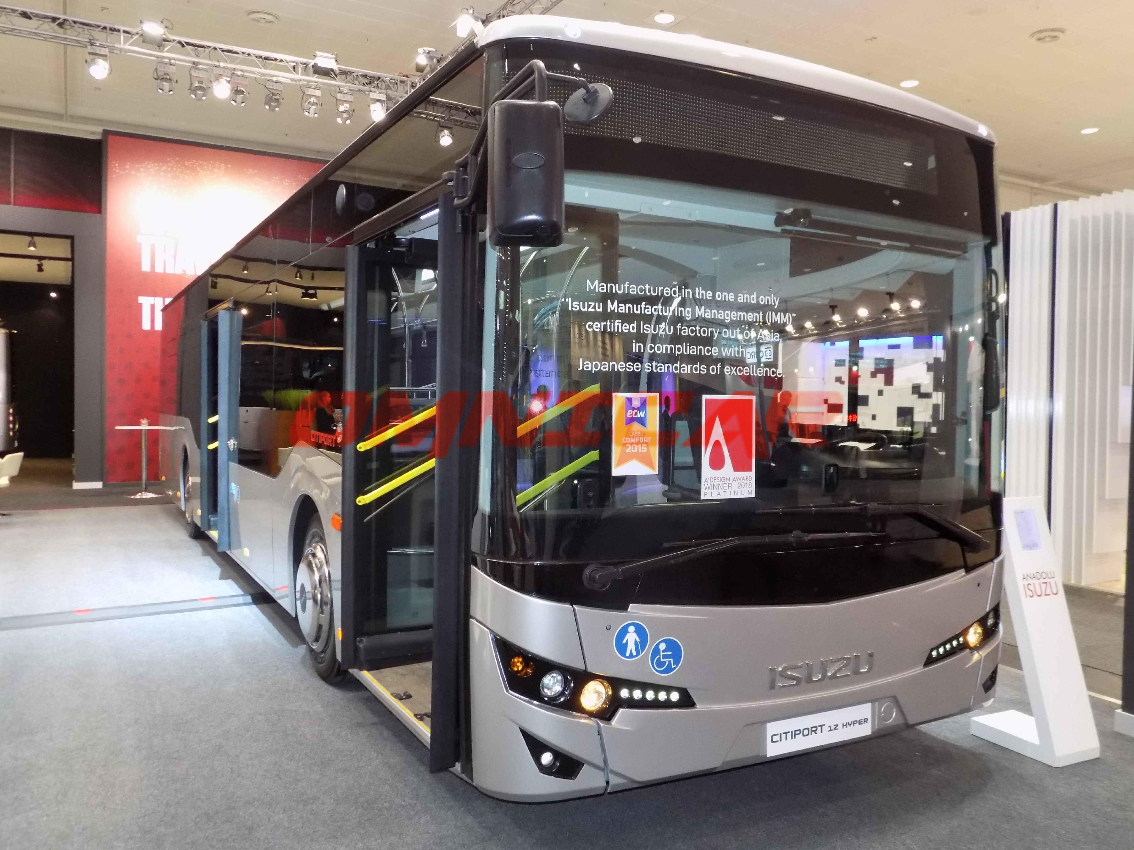 Omnicar Citiport 12 - Stadtbus 36 Sitze IAA-2018 Isuzu Bus