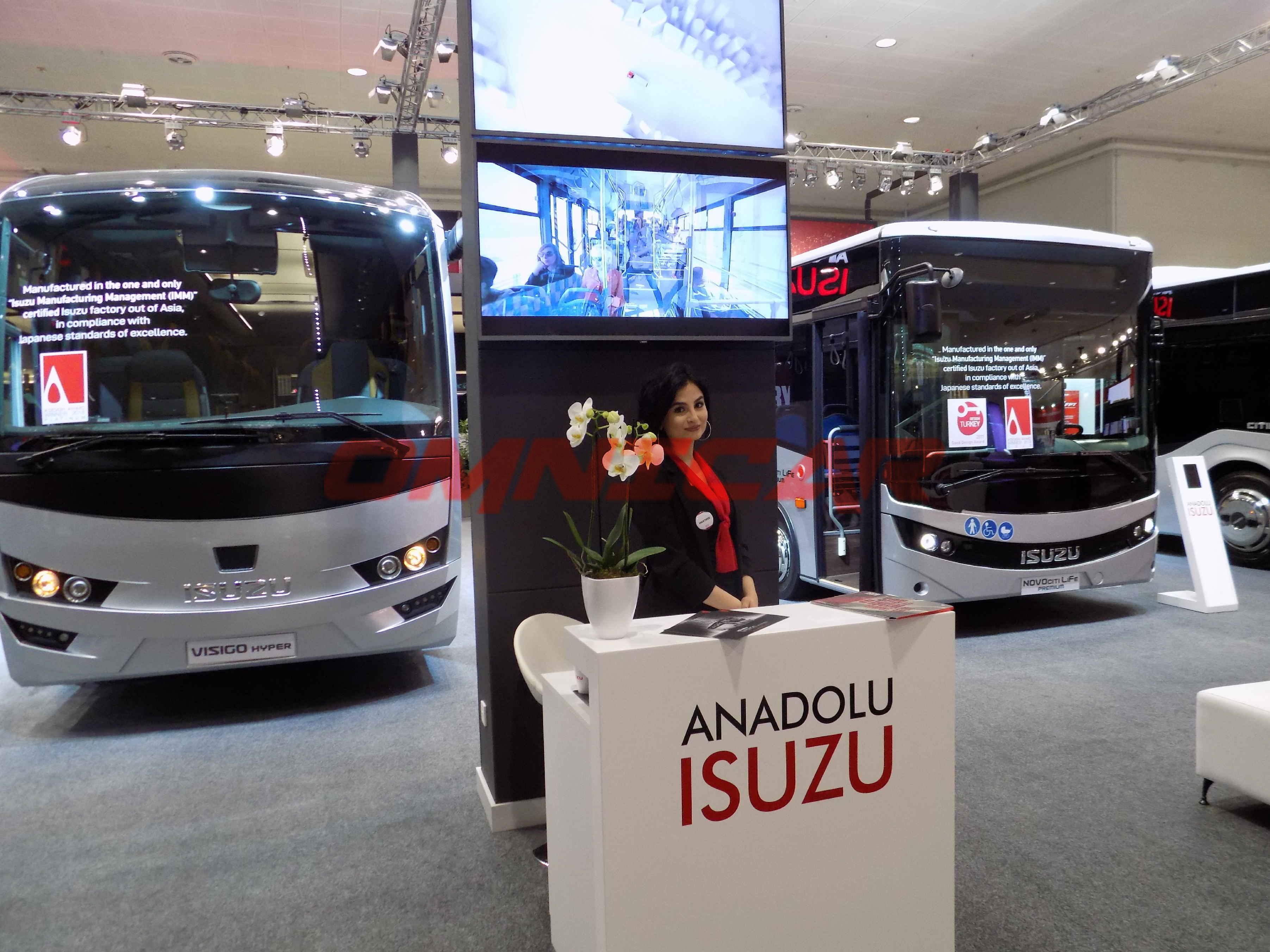 Anadolu Isuzu Omnicar GmbH IAA-2018