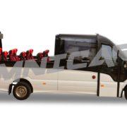 Minibus MB 519 Panoramique Cabrio décapotable Minibus, 19+1+1 places Omnicar
