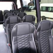 Minibus panoramique 16+1+1 Mercedes Sprinter 519 Omnicar