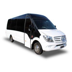Minibus panoramique 19+1+1 Mercedes Sprinter 519 Omnicar