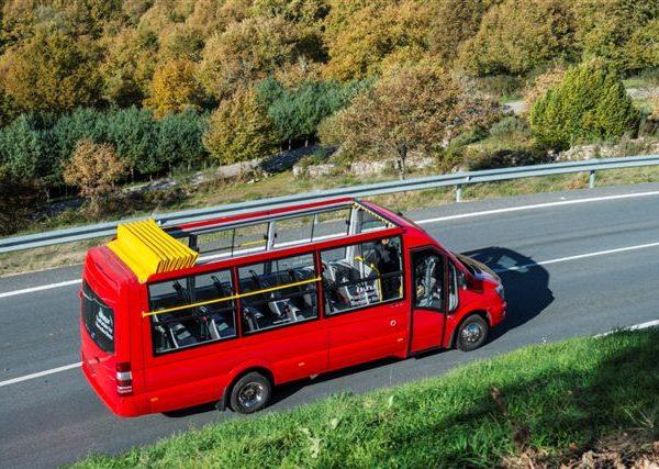 OPEN AIR Mercedes-Benz Sprinter 516/519 21 sièges Classe 2-3 version tourisme interurbain