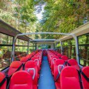 Open air Atego Mercedes 43 places Omnicar minibus décapotable cabriolet