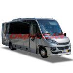 Omnicar Iveco 70C21 tourisme 33+1+1 avec soute latérale de 5m3