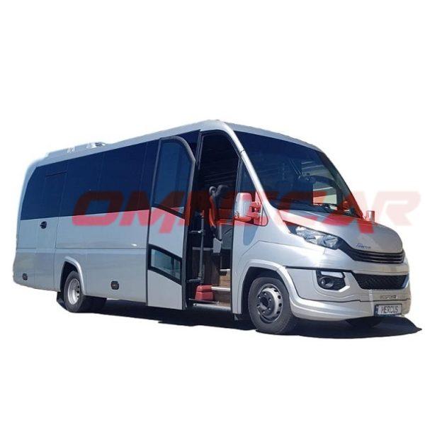 Omnicar Iveco 70C18 33 ou 35 places Scolaire mixte midibus et minibus