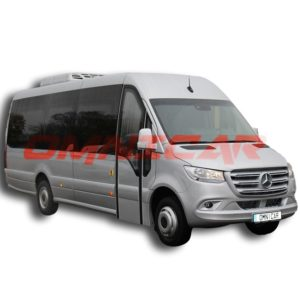 Mercedes sprinter 519 automatique GTavec extension omnicar