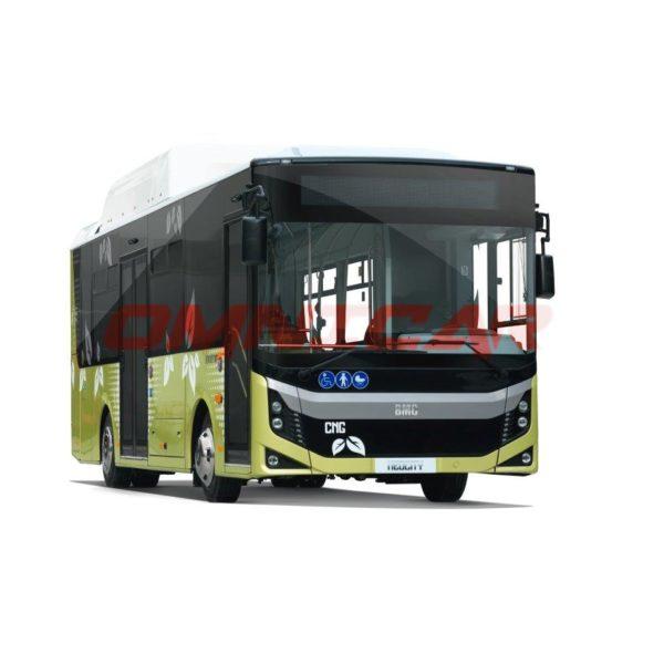 Neocity CNG 9 Meter Stadtbus MAN Erdgas Motor Omnicar BMC