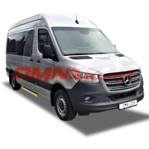 Mercedes Sprinter 316 – 9 passengers 3.5 Ton private license Omnicar Germany