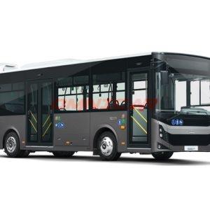 Autobus Minibus urbain 72 passagers 8.5 Mètres