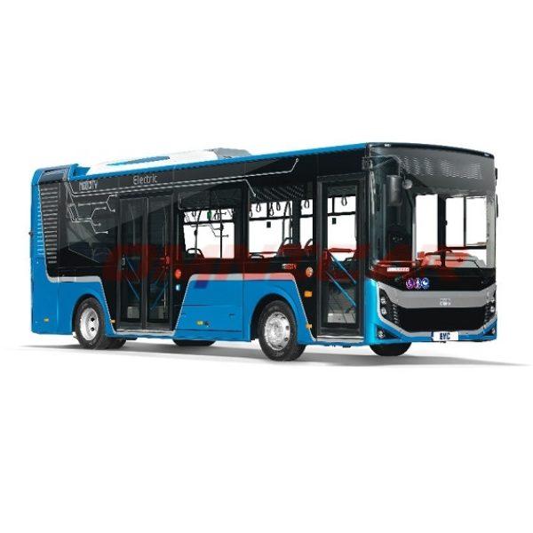 minibus urbain électrique Neocity Electrique BMC 8 metre 50 Omnicar
