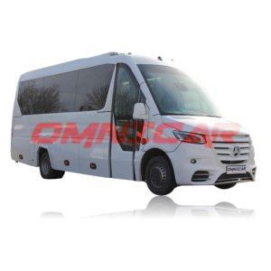 Mercedes Sprinter Chassis 519CDI VIP HD 19+1+1 Luftfederung und Telma auf Lager