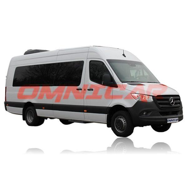 Linienbus 22 Fahrgastplätzen Sprinter 516CDI Heizung Klima elektrisch Türen